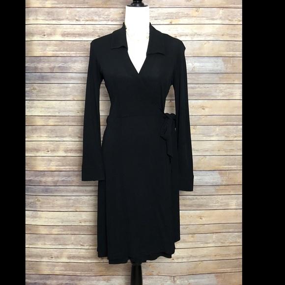 40a1405c2b4b4 Diane Von Furstenberg Dresses   Dvf Classic Black Wrap Dress   Poshmark